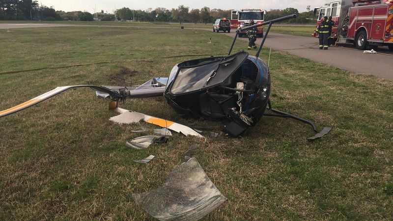 Helicopter crash in Clearwater.