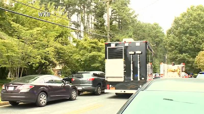 Law enforcement officials in Winston-Salem, North Carolina, responded Wednesday to a reported...