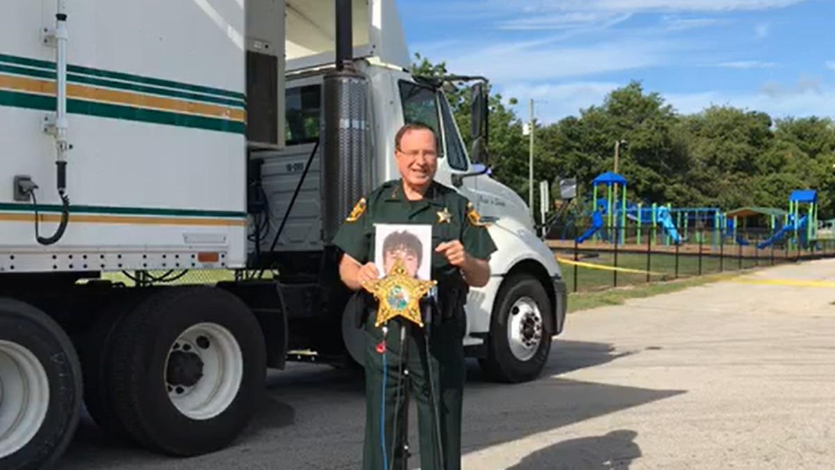 Sheriff Grady Judd is offering a reward for info in 'massacre' of teen.'