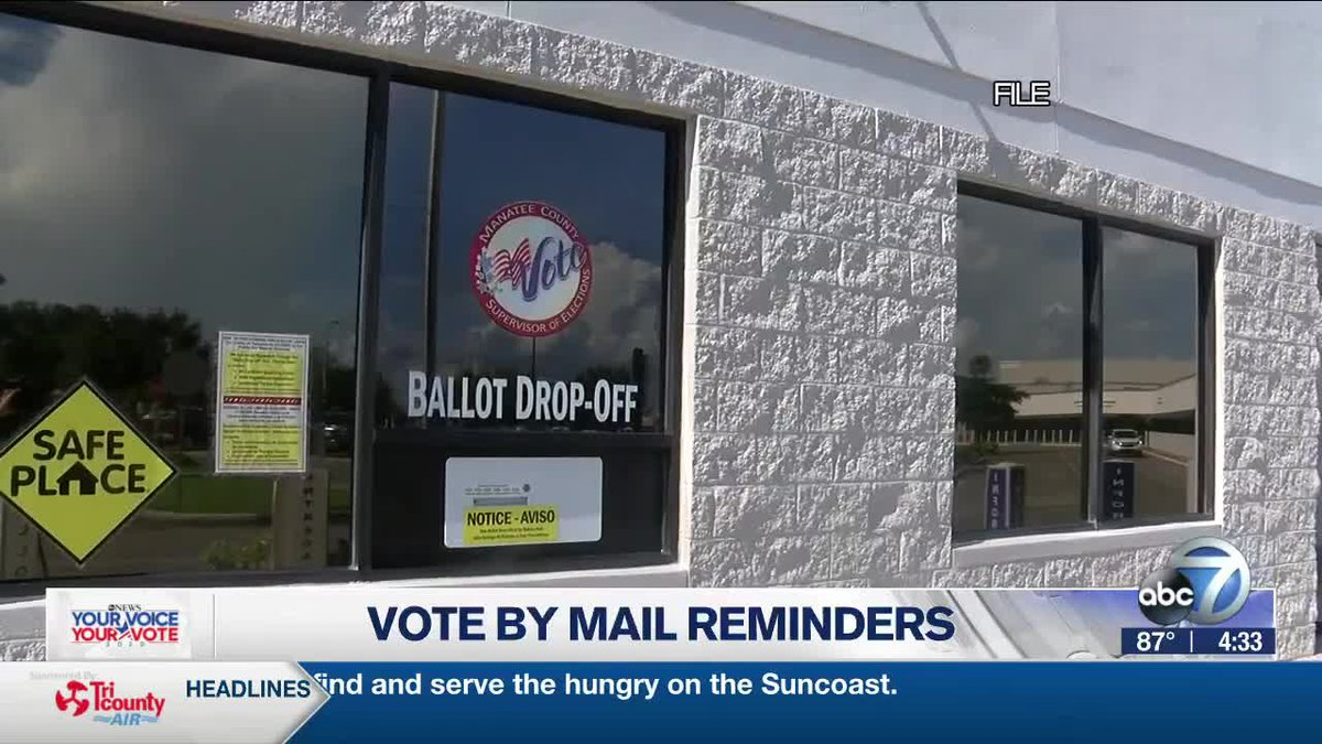 Vote By Mail Reminders