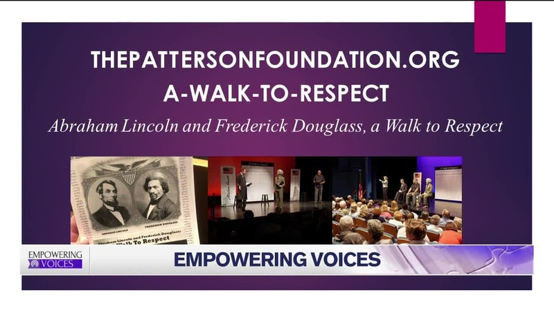 Play About Abe Lincoln , Frederick Douglas Friendship Sparks Healthy Conversations On Race: How...