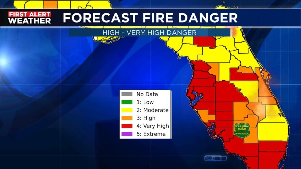 Fire danger stays high