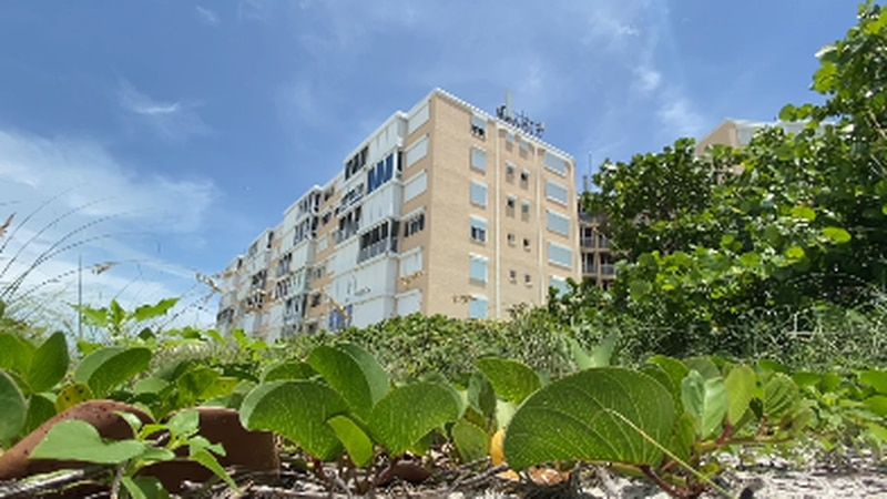 Leaders on Holmes Beach discussing their building inspection standards following tragedy at...