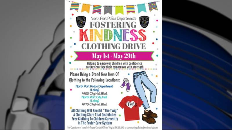 NPPD hosting clothing drive