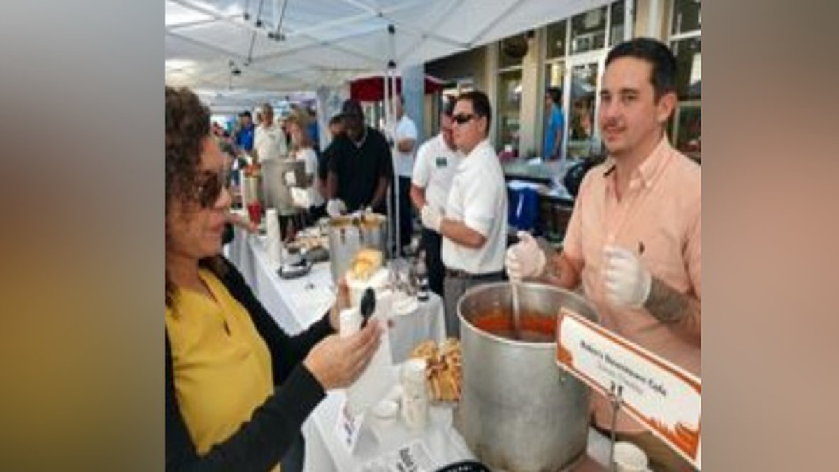 Food Bank of Manatee County hosts 18th Annual Empty Bowls Manatee's 'Longest Lunch Table.'
