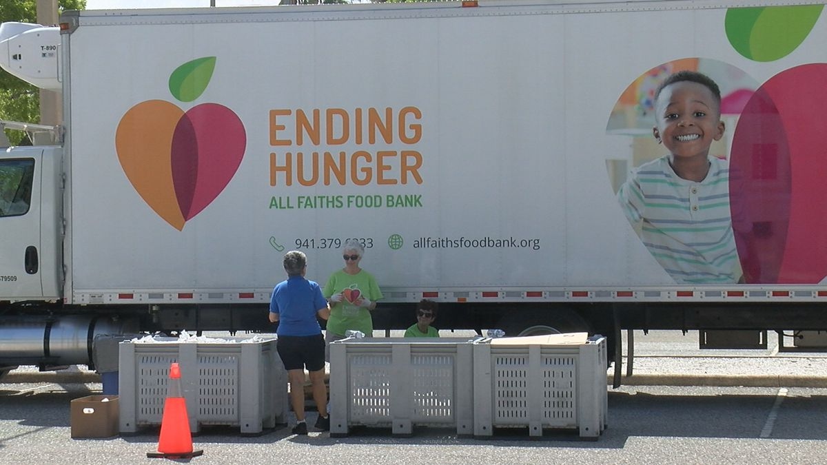 Stopping by Van Wezel for All Faiths Food Bank's monthly food drive? From now on, Sarasota...