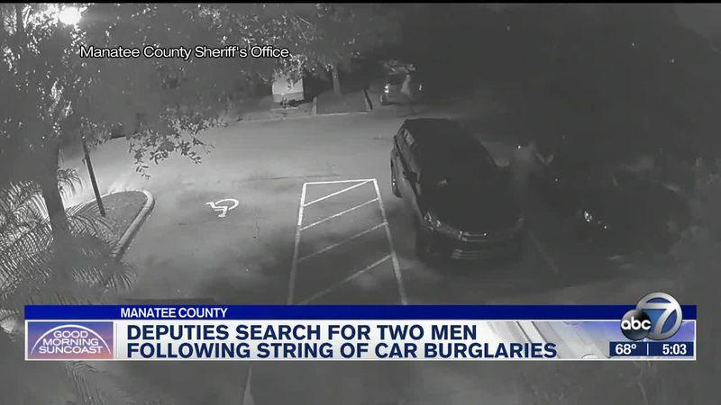 Vehicle burglaries in Manatee County