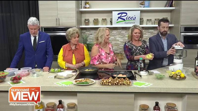Kiwi recipes on Suncoast View with Clairvoyant Gourmet.