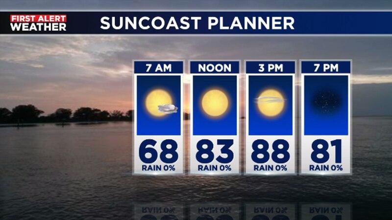 The Thursday morning forecast