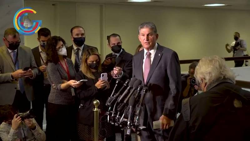 Manchin still wants compromise as lawmakers continue to clash over debt ceiling
