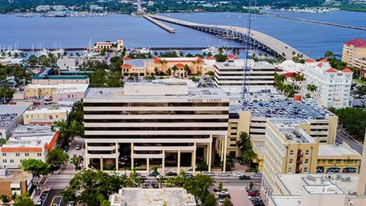 The Manatee County Administration Buillding
