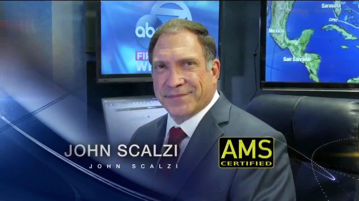 Meteorologist John Scalzi