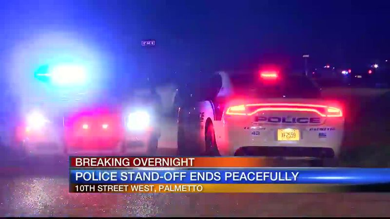 Palmetto Police Standoff Ends Peacefully