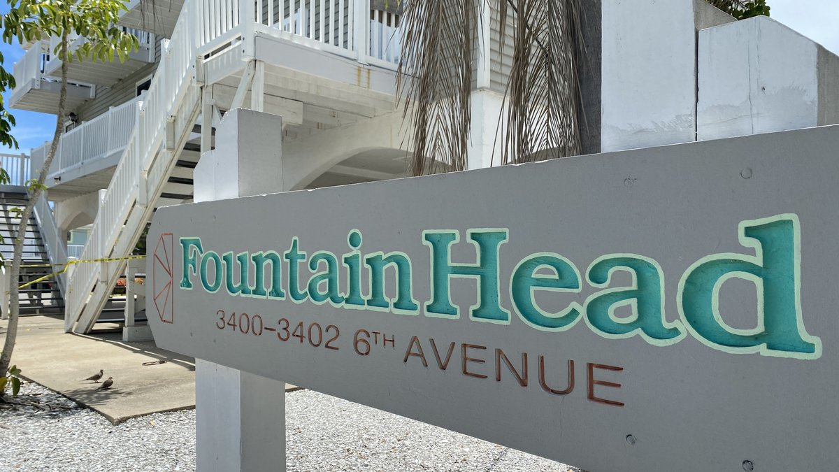 This Holmes Beach vacation rental property was evacuated over the weekend because of structural...