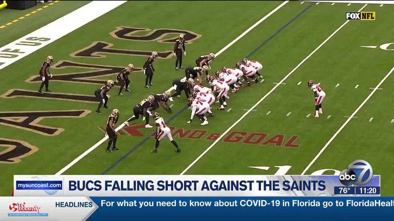 Bucs Fall Short Against Saints
