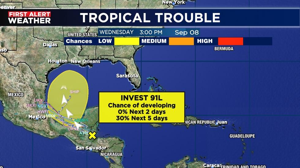 Tropics remain busy